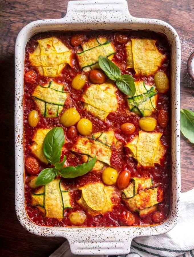 Zucchini Ravioli (Keto + Low Carb!)