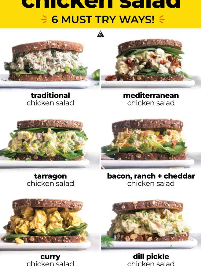 Easy Chicken Salad (+6 Variations!)