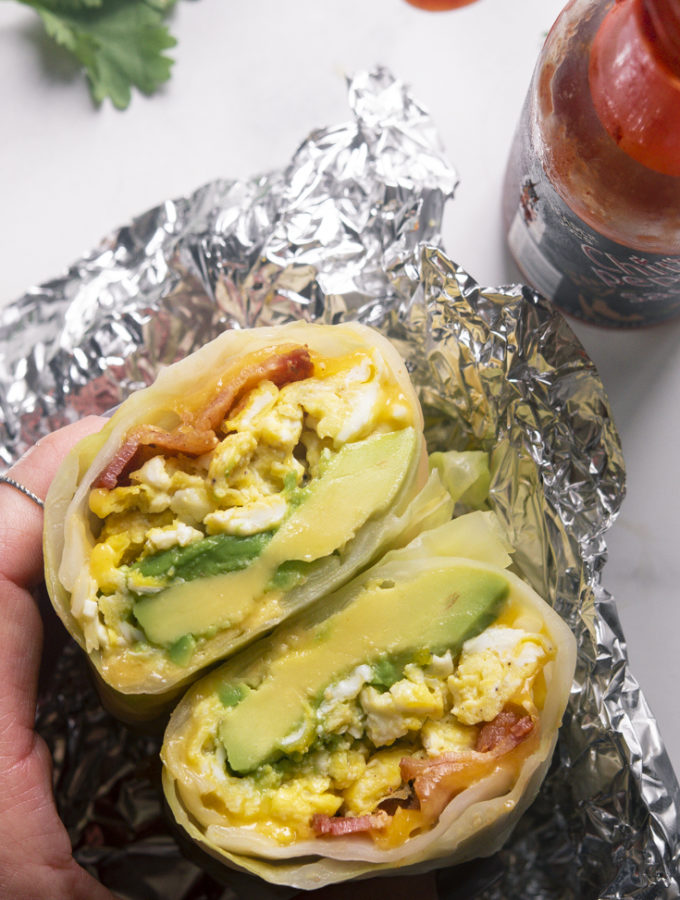 Low Carb Breakfast Burritos (Keto + Easy!)