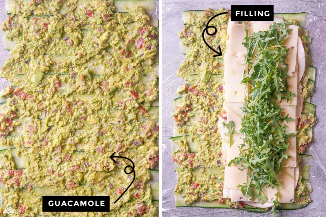 cucumber wraps fillings