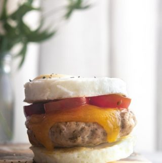 Low Carb Egg Mcmuffin (Keto + Easy!)