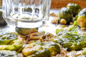 how to smash brussel sprouts