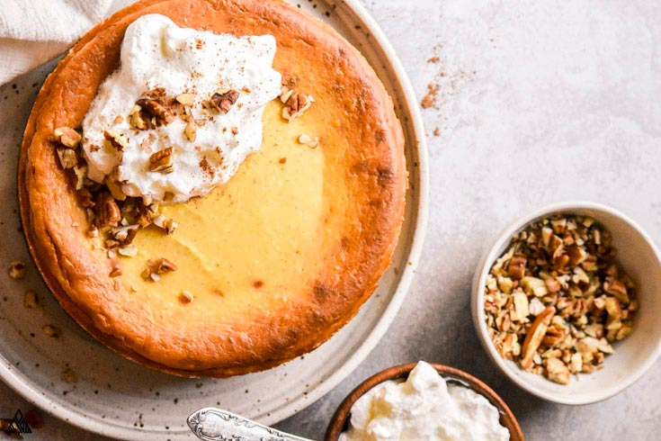 how to make a low carb pumpkin cheesecake