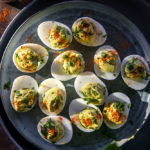 Keto Avocado Deviled Eggs (Guacamole Deviled Eggs)