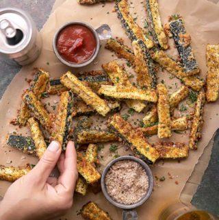 parmesan zucchini fries