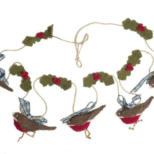 Knitting Pattern Christmas Bunting : Knitted Christmas Bunting The Little Songbird Knitting Co