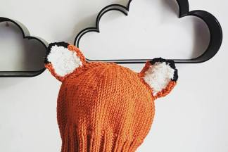 Merino Fox Hat