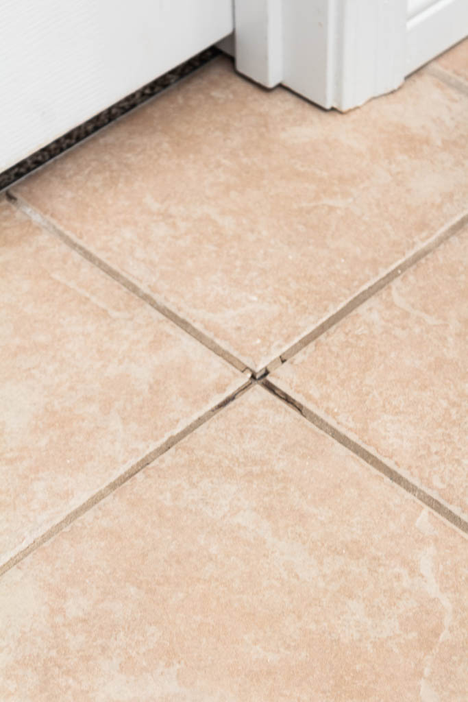 how to repair cracked tile grout an