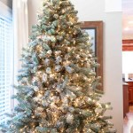 How To Flock A Christmas Tree The Easy Way The Lived In Look