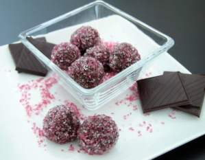 Healthy Chocolate Truffles