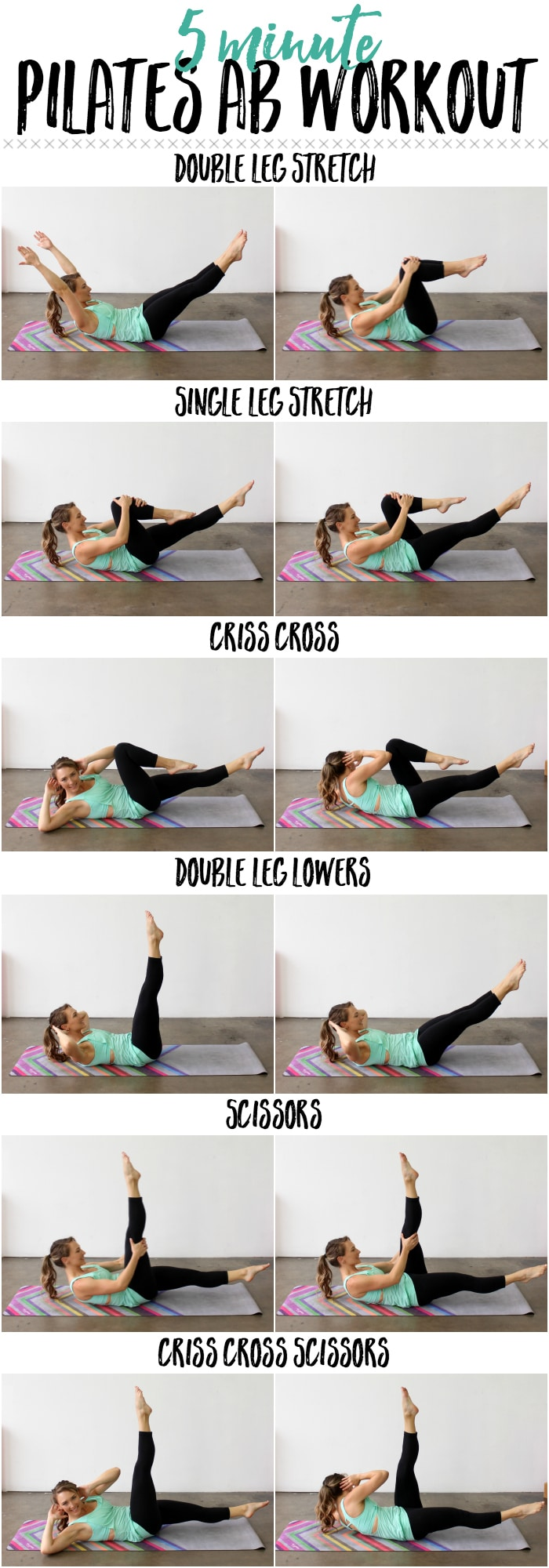 The 5-Minute Pilates Workout You Need To Try If You Sit All Day pics