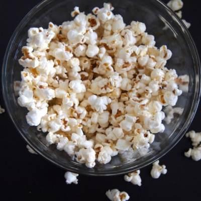 Healthy Stovetop Popcorn