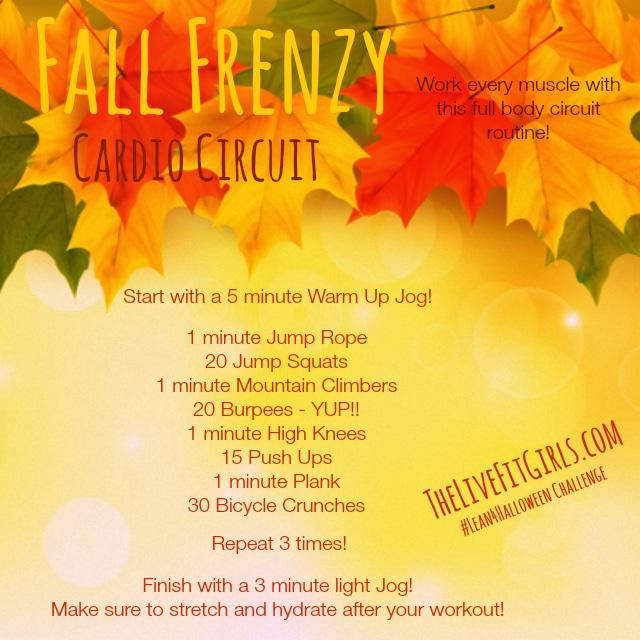 Fall Frenzy Cardio