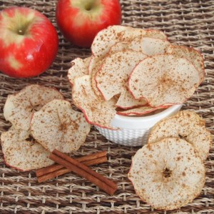 Homemade Apple Chips! ♡