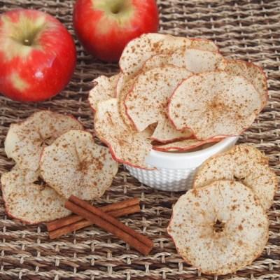 Homemade Apple Chips! ♡