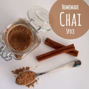 Homemade Chai Spice ~ YUM!!