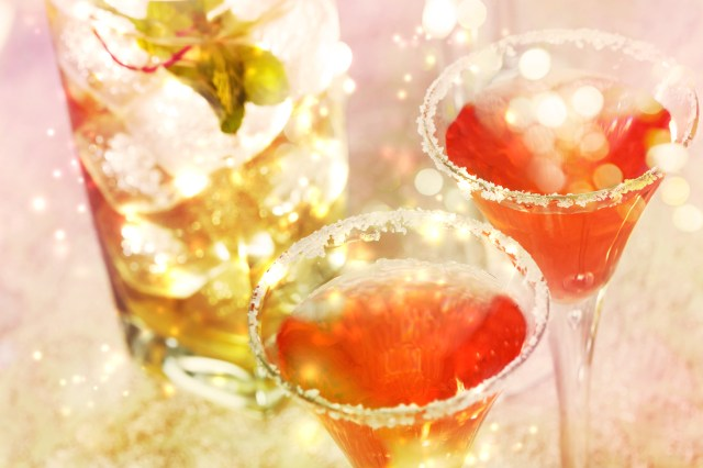 Skinny Holiday Cocktails