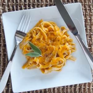 Healthy Creamy Butternut Squash Pasta