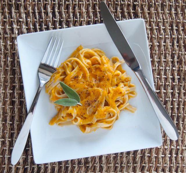 Healthy Butternut Squash Pasta