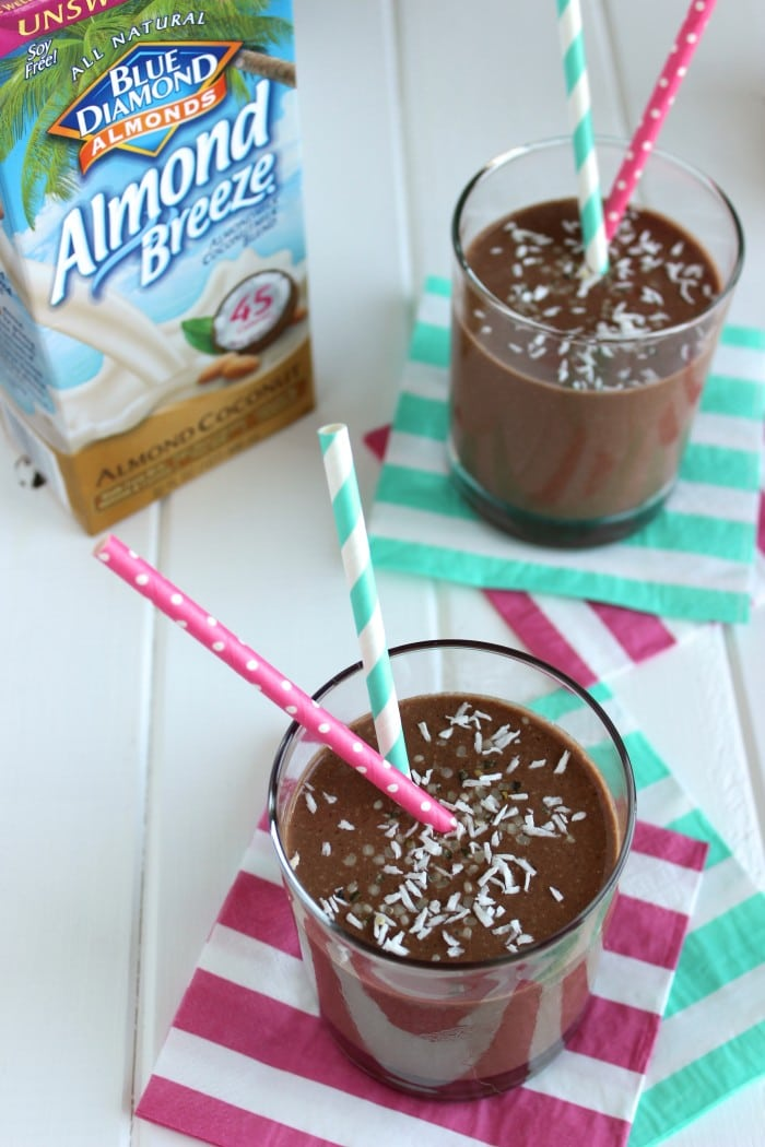 Chocolate Coconut Breakfast Smoothie