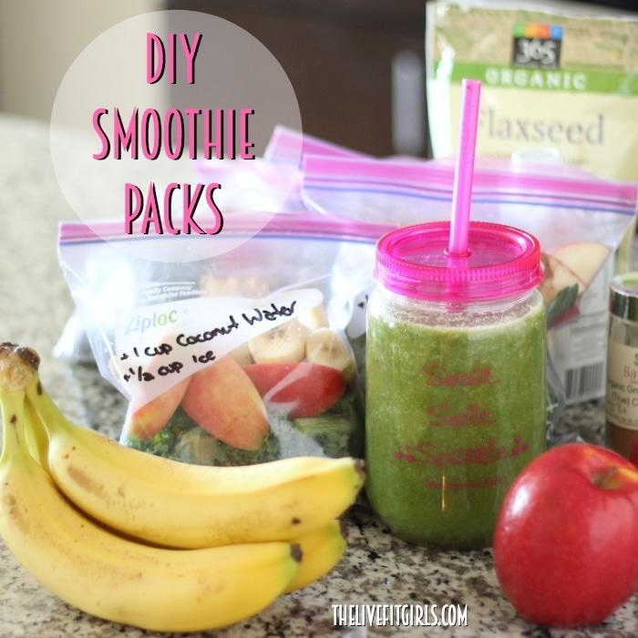 DIY Smoothie Freezer Packs