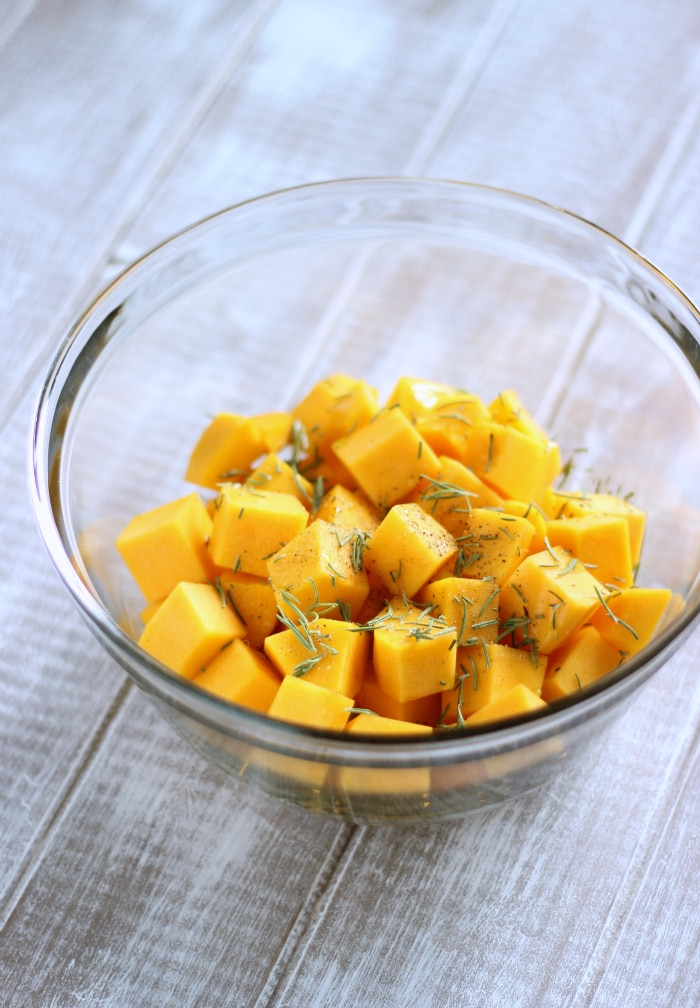Rosemary Butternut Squash