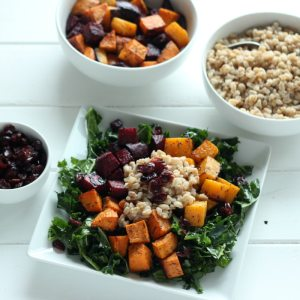 Root Veggie and Farro Salad