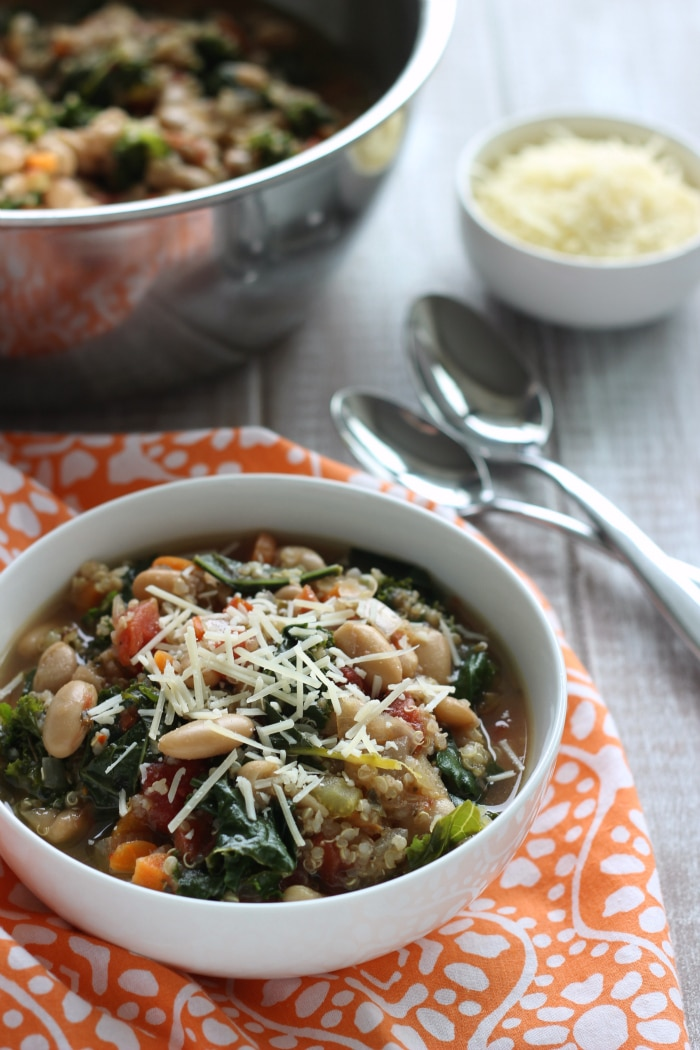 Kale White Bean Soup