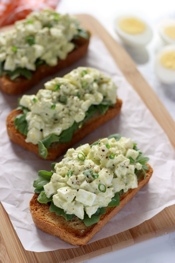 Egg White & Avocado Toast