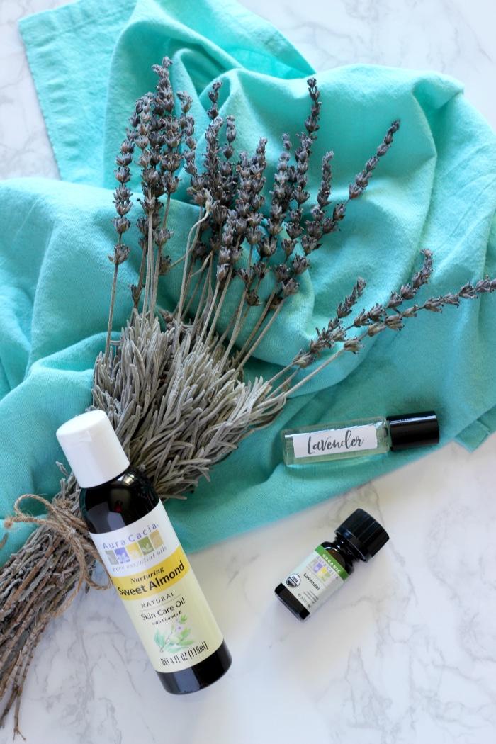 DIY Lavender Essential Oil Roll On
