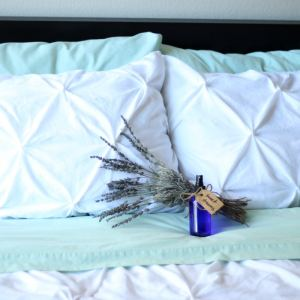 DIY Pillow Spray & Tips for Better Beauty Sleep