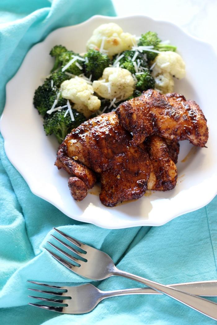 Spicy Honey Glazed Chicken