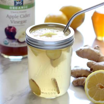 Detox Ginger Lemonade