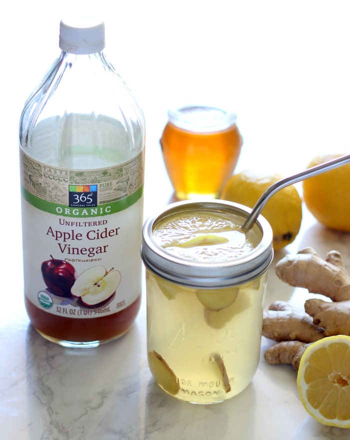 Ginger Lemonade Detox Drink