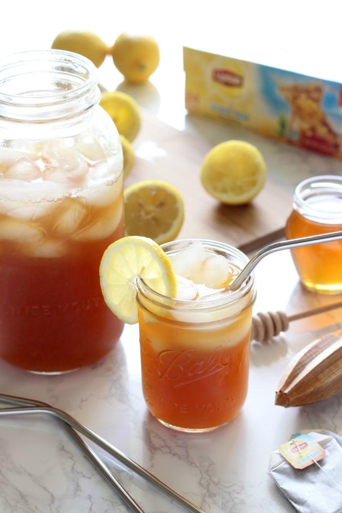 Skinny Lemon Iced Tea