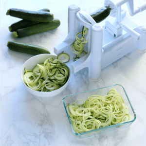 Meal Prep How to: Zucchini Noodles