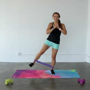 Full Body Resistance Band Loop Workout