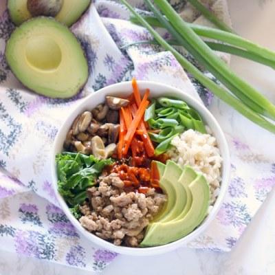 HEALTHY Korean BBQ Bowl