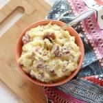 Healthy Garlic Mashed Potatoes