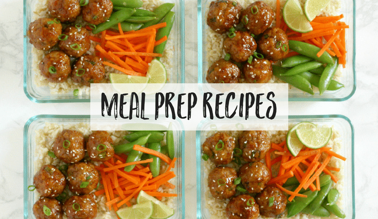 Looking for the best meal prep recipes? This collection of easy and delicious recipes, will make your weekly meal prep simple and stress free. You'll find everything from grab and go breakfast options, healthy snacks and smoothies, to satisfying lunches, and dinners that you're whole family will love. You'll save so much time meal planning with these healthy recipes!
