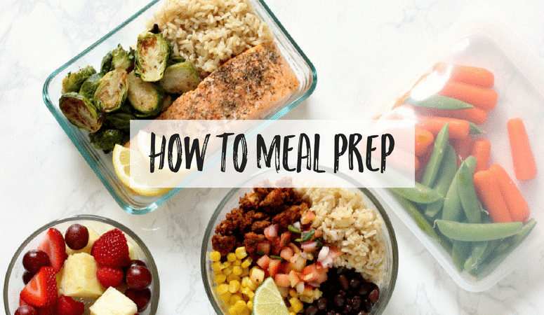 Meal Prepping can be overwhelming when you're first starting out! I'm breaking down the process showing you how to meal prep, including time-saving tips, healthy meal prep recipes, a shopping list and meal prep planner, and sharing helpful kitchen tools and the best meal prep containers. Get ready to start cooking!