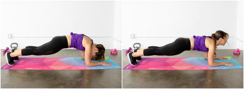 How to do a Plank: Make sure your neck is in correct alignment
