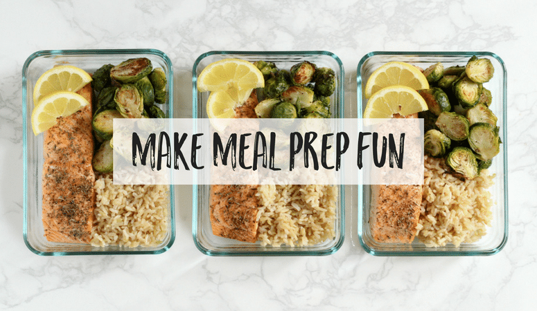 Meal prepping can seem like a LOT of work, and seem like a hassle. These tips will help make the whole process more enjoyable!