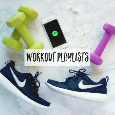 Fun and inspiring gym songs to get you through your cardio or workouts!