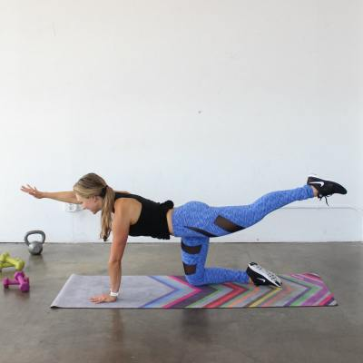 Hip + Shoulder Stability Workout