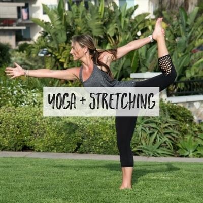 Stretching and yoga sequences to relax your body and mind, and lengthen your muscles. These routines can help prevent injury, alleviate stress, and even help with weight loss. Choose from beginner workouts to advance routines for every level.