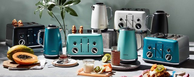 add colour to your home with appliances