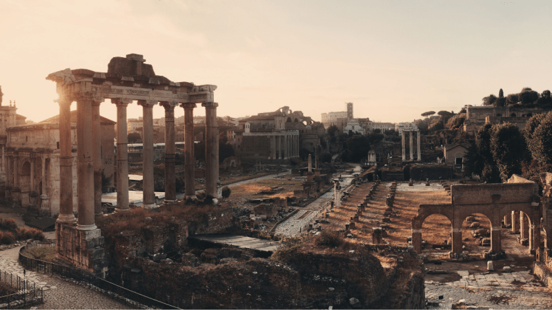 2,000-Year-Old Roman Basilica Unearthed