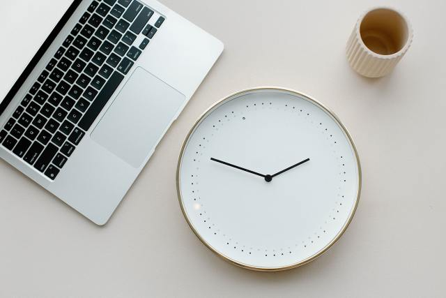 providing boundaries to help you get up on time