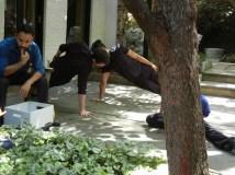 Dancers and Alejandro